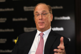 """BlackRock chief Larry Fink says investors who haven't experienced periods of high inflation could be in for a """"big shock."""""""