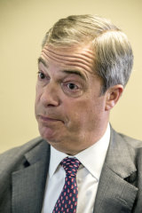 Hardcore Brexiteer Nigel Farage's party could harm the government's re-election prospects in Britain's first-past-the-post voting system.