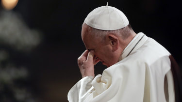 "Letter blames Pope for ""one of worst crises"" of the Church."