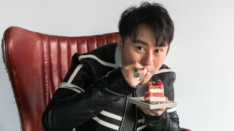 """This cake is a phenomenon, not just a fad"": Louis Li, new owner of Black Star Pastry."