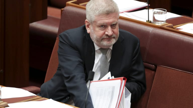 Mitch Fifield spoke out against the ABC motion.
