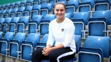 Australia's French Open champ, Ash Barty, in Birmingham as her pre-Wimbledon schedule heats up.