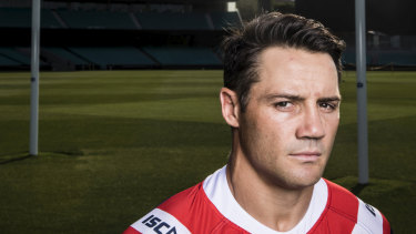 Injured: Cooper Cronk is not available for the Roosters' clash against Parramatta.