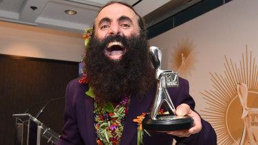 The ABC's Costa Georgiadis won the Logie  for the Most Popular Lifestyle Program for his show Gardening Australia.