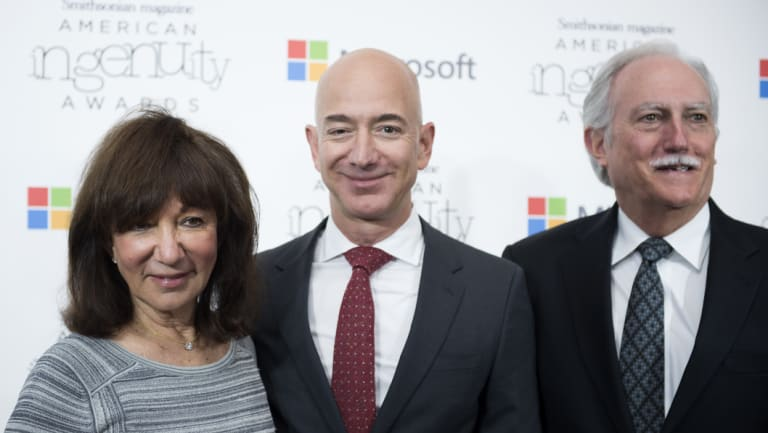 Having backed their son in the start-up phase, his parents Jackie and Mike Bezos reaped an estimated 12 million per cent return.
