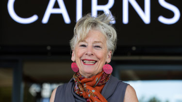 Maggie Beer arrives at the Royal Commission into aged care.