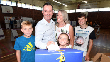 Premier Mark McGowan has told Parliament he will be repaying the costs of travelling with his children around the state.