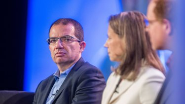 Stephane Bancel is chief executive officer of Moderna Therapeutics, which is developing a COVID-19 vaccine.