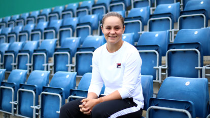 Ash Barty a high-flyer determined to keep her feet on the ground