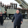 North Korea tests new 'super-large' multiple rocket launcher