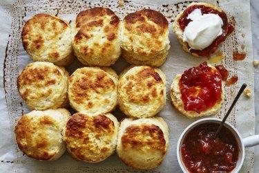 Jill Dupleix's buttermilk scones