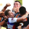 NRL 2021 Magic Round as it happened: Sea Eagles smash Broncos, Tigers take care of Knights