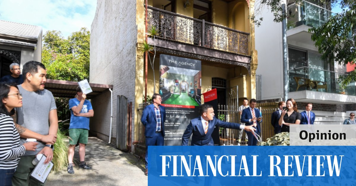 Why investors are now joining the house price partyThe Australian Financial Review