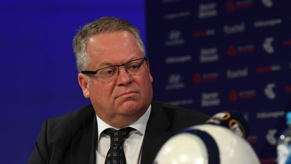 A-League chief faces music, but there are bigger issues