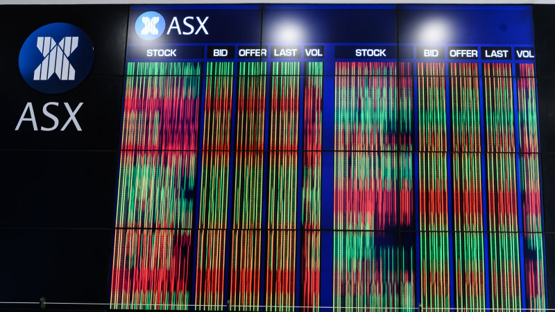 8@eight: ASX set for gains as Wall Street rallies into the close – Sydney Morning Herald