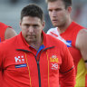 Gold Coast Suns coach Stuart Dew settles in