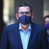Daniel Andrews announced stage four restrictions and a 'state of disaster' on Sunday afternoon.