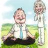 Andrew Forrest and Olivia Newton-John.
