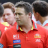 Gold Coast coach Stuart Dew has faced no shortages of challenges.
