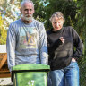 'Chockers': Couple go one year without putting the bin out
