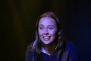 Laneikka Denne, writer and star of the play <i>Dead Skin</i>, is a talent to watch.