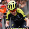 Spratt's solo La Course breakaway falls short as Vos triumphs