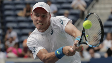Open season: James Duckworth has made it through to the main draw of the Australian Open after winning the wildcard playoff.