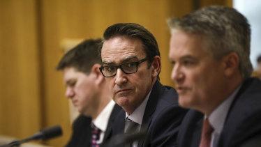 Treasury secretary Steven Kennedy told estimates on Wednesday the economy was improving.