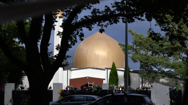 The Al Noor Masjid in Christchurch, New Zealand.