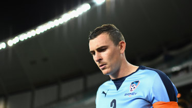 Even some of Sebastian Ryall's closest friends had no idea of the struggles he was experiencing during his A-League career.