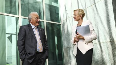 Dr Mike Freelander Dr Katie Allen both support changes that would allow 'transformative IVF technology' to help families with mitochondrial disease.