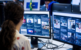 The election 'War Room' is symbolic of Facebook's work to assuage public concern about the fake accounts, misinformation and foreign interference on its site that cloud discussion about elections.