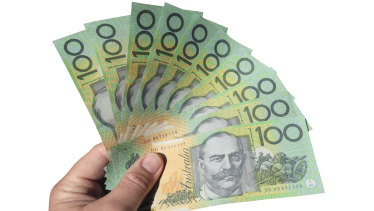 Australians have banked $119 billion over the past year.