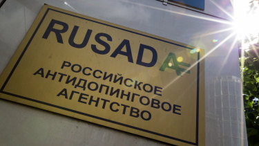 RUSADA has been readmitted by WADA.