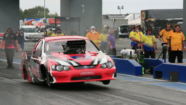 2017-18 Top Comp drag championship winner Stu Moresby said teams are reluctant to enter new cars into  the competition because of uncertainty over the Motorplex's future.