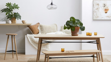 The clean lines of Scandinavian design make it a great choice for tight spaces.