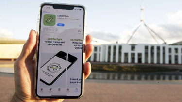 The COVIDSafe tracing app was launched on Sunday and within four hours had been downloaded by 1 million Australians.