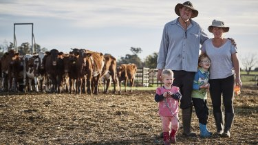 Riverina dairy farmers Barry and Rosey Warburton feature in the new season of Struggle Street on SBS.