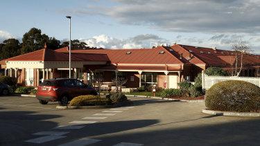 The Goonawarra Aged Care Facility in Sunbury.