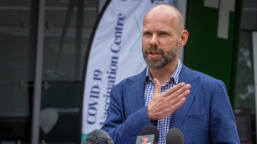 COVID-19 logistics chief Jeroen Weimar has issued a plea for older Victorians to get vaccinated.