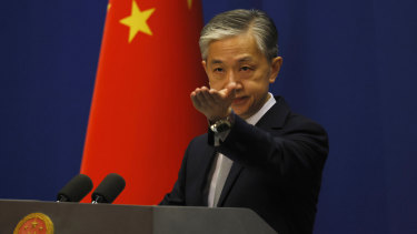 China's Foreign Ministry spokesman Wang Wenbin said China's authorities handled the case according to law.