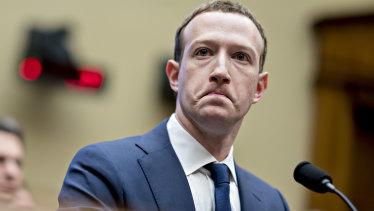 Facebook chief executive Mark Zuckerberg faced two days of grilling before US legislators.