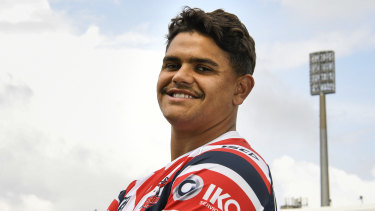 Latrell Mitchell could make a shock switch to rugby.