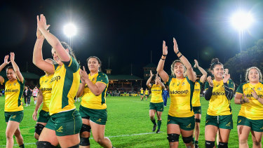 After winning their first bilateral series this week, the Wallaroos have gained confidence ahead of their clash with the Black Ferns.