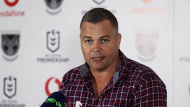 Anthony Seibold's horror season continues.