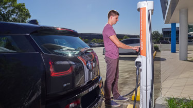 A lack of public charging points has been a barrier to a greater uptake of electric vehicles.