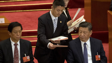 China's National People's Congress is a rubber stamp, not a genuine democratic body.