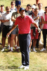 Adam Scott's hopes petered out in the final round.