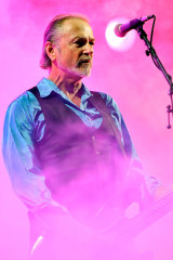 Steve Kilbey of the Church performs at the Music Tastes Good Festival in California in September 2018.