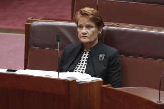 Senator Pauline Hanson has invested in a Mackay recycling company.